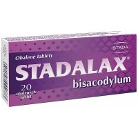Stadalax 5 mg 20 obalených tablet