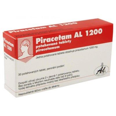 Piracetam AL 1200 mg 30 potahovaných tablet