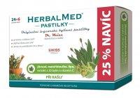 Dr. Weiss HerbalMed Jitrocel + mateřídouška + lípa + vitamin C 24+6 pastilek