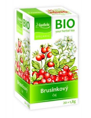 Apotheke BIO Brusinkový ovocný čaj nálevové sáčky 20x1,8 g