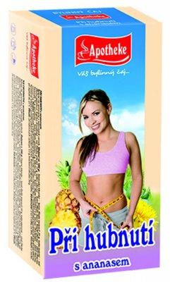 Apotheke Při hubnutí s ananasem čaj nálevové sáčky 20x1,5 g