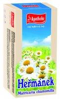 Apotheke Heřmánek pravý čaj nálevové sáčky 20x1,5 g