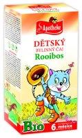 Apotheke BIO Dětský čaj Rooibos pro běžné pití nálevové sáčky 20x1,5 g