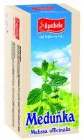 Apotheke Meduňka lékařská čaj nálevové sáčky 20x1,5 g