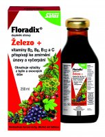 Salus Floradix Železo+ sirup 250 ml