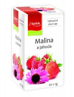 Apotheke Malina+jahoda s echinaceou čaj nálevové sáčky 20x 2 g