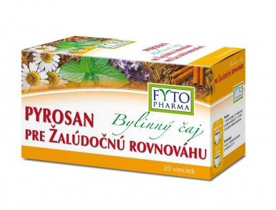 Fytopharma Pyrosan Bylinný čaj pro žaludeční rovnováhu 20x1,5 g