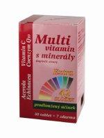 Medpharma Multivitamín s minerály + extra C 37 tablet