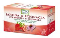 Fytopharma Ovocno-bylinný čaj jahoda & echinacea 20x2 g
