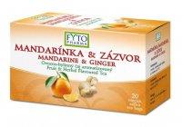 Fytopharma Ovocno-bylinný čaj mandarinka & zázvor 20x2 g