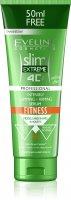 Eveline SLIM 4D Fitness intenzivně zeštíhlující a zpevňující sérum 250 ml