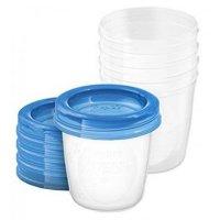 Avent VIA pohárky s víčkem 180 ml 5 ks