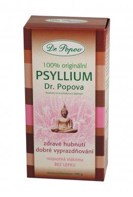 Dr. Popov Psyllium indická rozpustná vláknina 100 g