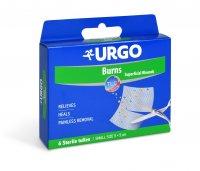 Urgo krytí na popáleniny, 5 x 5 cm, 6 ks