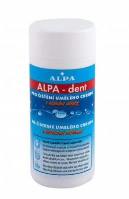 Alpa ALPA-Dent pro čištění umělého chrupu prášek 150 g