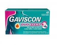 Gaviscon Duo Efect 48 žvýkacích tablet