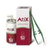 Atix Sada pro bezpečné odstraňování klíšťat sprej 9 ml + pinzeta