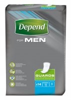 Depend For Men 2 inkontinenční vložky 14 ks