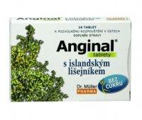 Dr. Müller Anginal s islandským lišejníkem 16 tablet