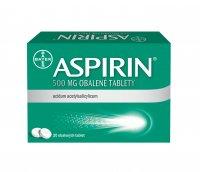 Aspirin 500 mg 20 tablet