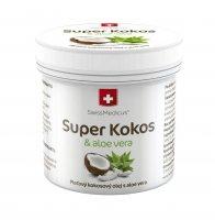 SwissMedicus Super Kokos a aloe pleťový olej 150 ml