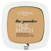 Loréal Paris True Match Golden Beige W3 kompaktní pudr 9 g