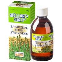 Dr.müller Müllerův sirup s jitrocelem medem a vitaminem C 320 g
