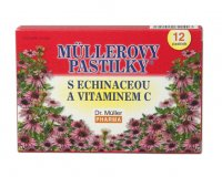 Dr.Müller Müllerovy pastilky s echinaceou 12 pastilek
