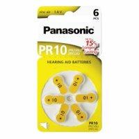 Panasonic baterie do naslouchadel 6ks PR10(230)/6LB