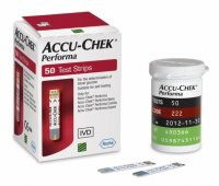 Accu-Chek Performa testovací proužky 50 ks