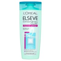 Loréal Paris Elseve Extraordinary Clay očisťující šampon pro rychle se mastící vlasy 250 ml
