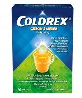 Coldrex CITRON S MEDEM Horký nápoj 10 sáčků