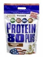 WEIDER Protein 80 Plus banana sáček 2000 g