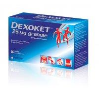 DEXOKET 25 mg granule 10 sáčků