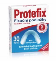 Protefix Fixační podložky na dolní zubní protézu 30 ks