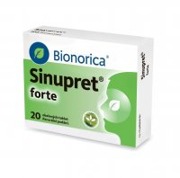 Sinupret forte 20 obalených tablet