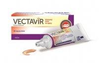 Vectavir Tónovaný krém na opary 2 g