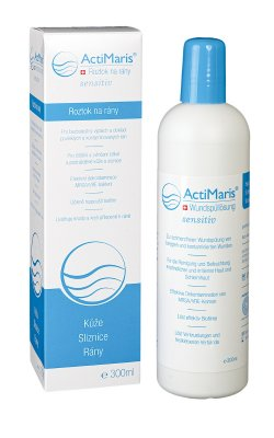 ActiMaris Sensitiv na výplach a čištění ran roztok 300 ml