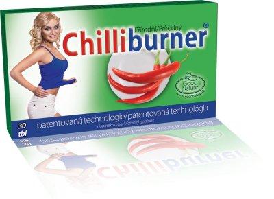 Chilliburner podpora hubnutí 30 tablet
