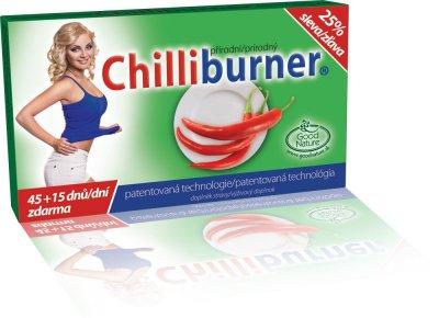 Chilliburner podpora hubnutí 45+15 tablet