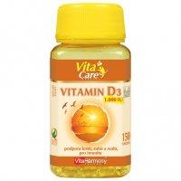 VitaHarmony Vitamin D3 1.000 m.j. 25 mcg 150 tobolek
