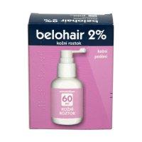 Belohair 2% kožní roztok 60 ml