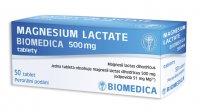 Biomedica MAGNESIUM LACTATE 500 mg 50 tablet