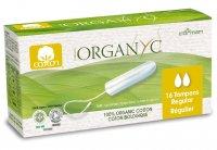 Organyc Menstruační tampony z biobavlny REGULAR 16 ks