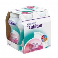 Cubitan S příchutí jahodovou 4x200 ml