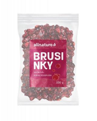 Allnature Brusinky plody 100 g