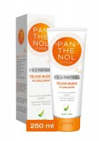 Omega Pharma Panthenol Omega tělové mléko Aloe Vera 9% 250 ml
