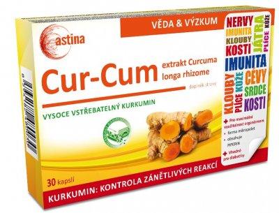 Astina Cur-Cum 30 kapslí