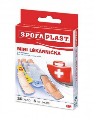 3M Spofaplast® 602 Mini lékárnička Mix náplasti 20 ks