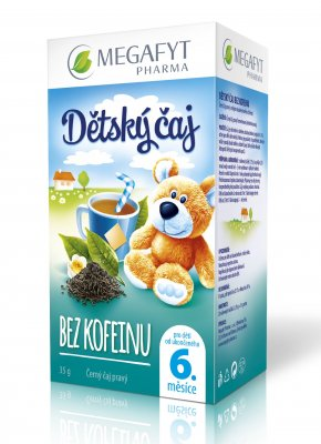 Megafyt Dětský čaj bez kofeinu 20x2 g